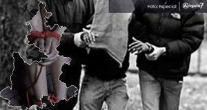 Puebla es cuarto lugar en secuestros con 44 hasta abril, 69% más que en 2018