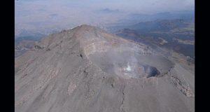 Sobrevuelo en el Popocatépetl revela que no hay domo formado