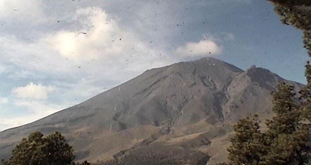 Popocatépetl, con 28 exhalaciones y sin variaciones relevantes: PC