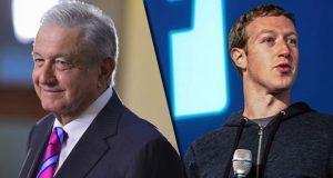 AMLO pide a Zuckerberg apoyo para llevar internet a mexicanos pobres