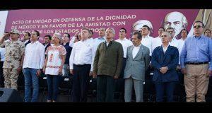AMLO celebra acuerdo con EU en Tijuana