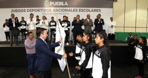 400 alumnos representan a Puebla en Juegos Deportivos Nacionales
