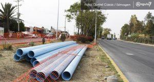 Con permiso del INAH, Agua de Puebla continúa obra en Los Fuertes