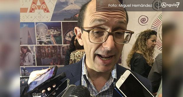 Cañedo avala que no se construyan más hoteles en Puebla por saturación