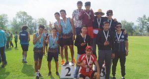 Alumnos de Zacapoaxtla ganan 3 oros en concurso deportivo