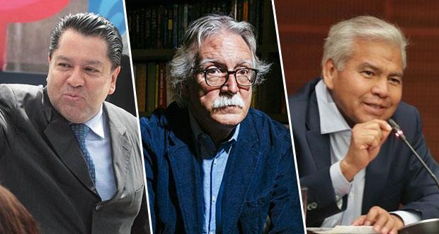 Aréchiga, Glockner y Velázquez Cruz van a Transporte, Cultura y Consejería
