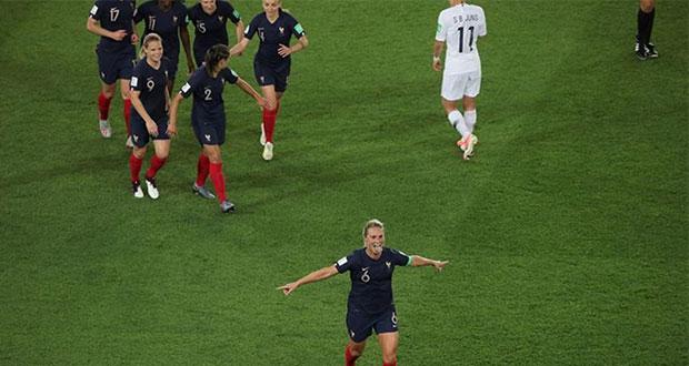 Arranca el Mundial femenil Francia 2019 con goleada de anfitrionas