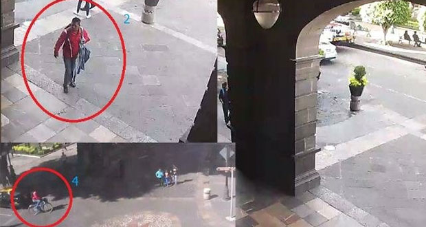 Captan al sujeto que robó bicicleta de reportera frente al Palacio Municipal
