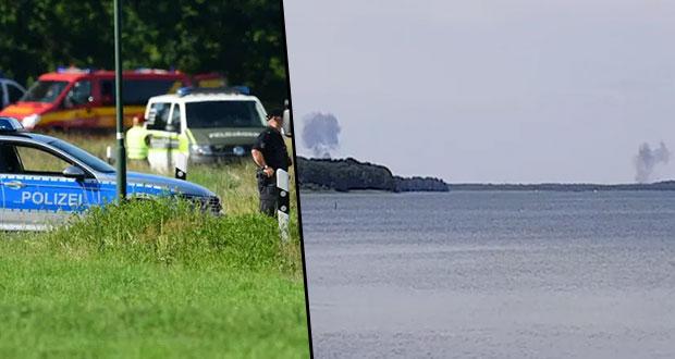 Choque entre dos aviones militares deja un piloto muerto en Alemania
