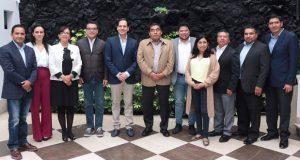 Concretan primera reunión de trabajo Congreso local y Barbosa
