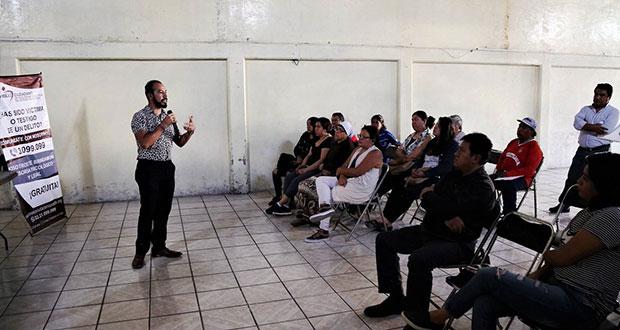 Consejo Ciudadano promueve cultura de la legalidad en Xoxtla