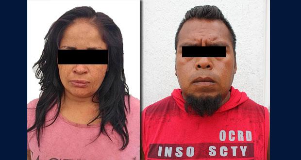 Detienen a mujer por intento de homicidio y a hombre con marihuana