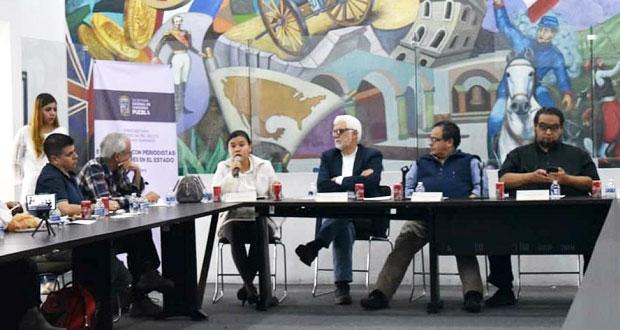 Dialoga SGG con activistas y periodistas por comisión de protección