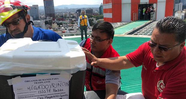 Donación de órganos en Puebla y Morelos salva 9 pacientes de Issste