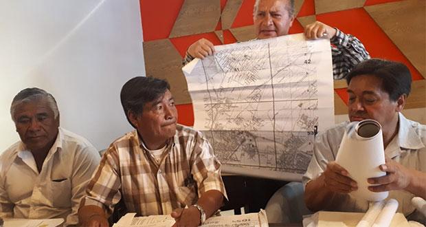Ejidatarios de La Resurrección se amparan para que Comuna atienda despojo