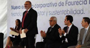 Faurecia invierte 400 mdp para construir sede de oficinas en Puebla