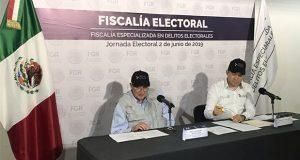 Fepade resalta 3 casos en Puebla: compra de votos, robo de urna e intimidación