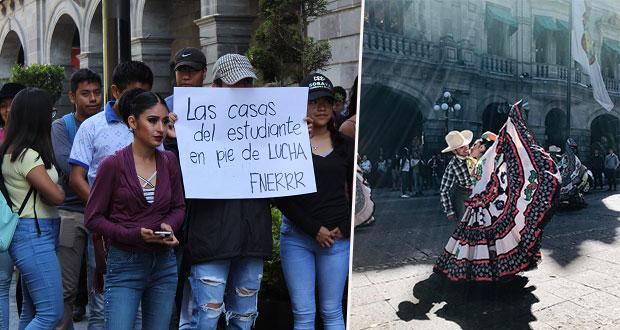 Fnerrr exige al ayuntamiento de Puebla atender sus demandas
