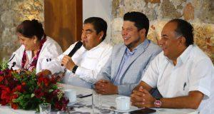 Gabinete no será repartición de cuotas partidistas ni de coalición: Barbosa