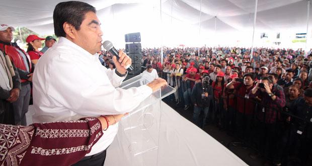 Gobierno humano y vigilar justicia: Barbosa en gira de agradecimiento