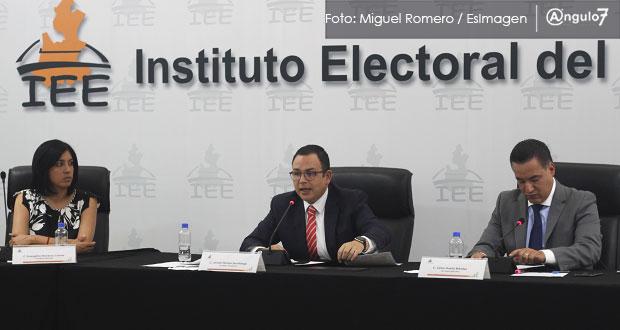 IEE aplicará 8.9 mdp en multas a 7 partidos por fiscalización del 2018
