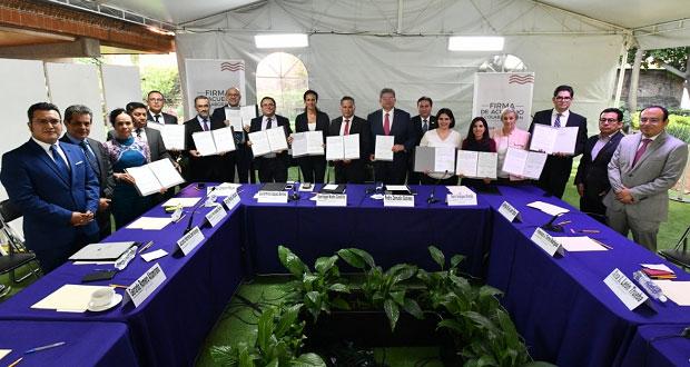 IEE firma acuerdo con SHCP para mejorar intercambio de información