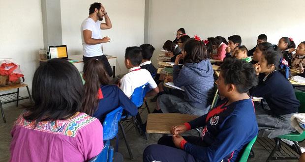 Imparten en secundaria plática contra la violencia