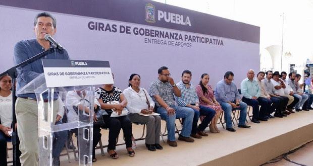 "Inicia SGG en Acatlán de Osorio jornadas de ""Gobernanza participativa"""