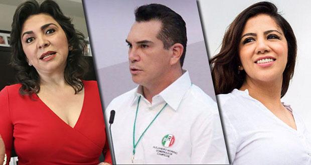 Ortega, Moreno y Piñón, candidatos a la dirigencia nacional del PRI