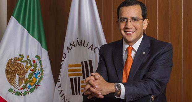 La Anáhuac de Puebla ratifica a Mata Temoltzin como rector hasta 2022