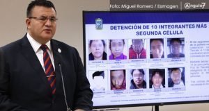FGE desarticula banda de 25 integrantes dedicada al robo y secuestro