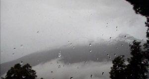 Ligera actividad registra el Popocatépetl: Protección Civil