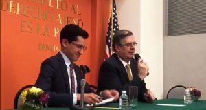 En primera reunión, México y EU no tocan aranceles, sólo migración