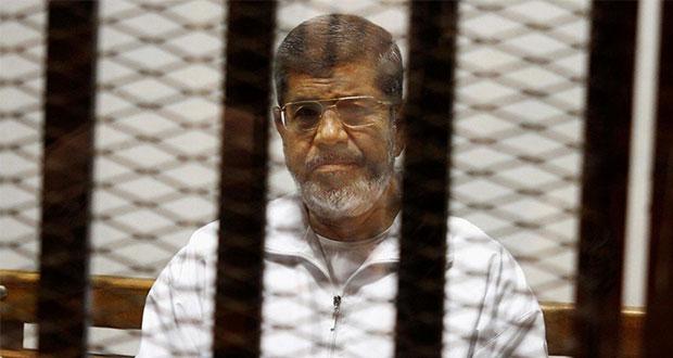 Muere expresidente egipcio, Mohamed Mursi, tras comparecer en juicio