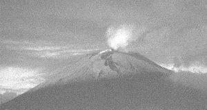 Monitoreo del Popocatépetl registra 132 exhalaciones en últimas horas