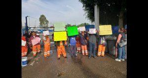 """""""Naranjitas"""" toman instalaciones para acusar descuentos salariales"""