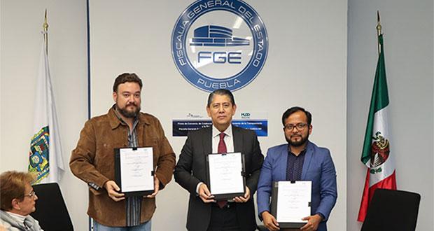 ONGs monitorearán 3 ministerios públicos de Puebla por 3 años