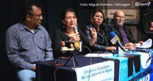 Organizaciones exigen auditar a Agua de Puebla por mala calidad de servicio
