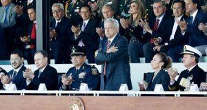 Pacheco acude a despliegue de la Guardia Nacional y respalda a AMLO