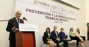 11% de niños en Puebla trabaja; Pacheco pide respetar su dignidad