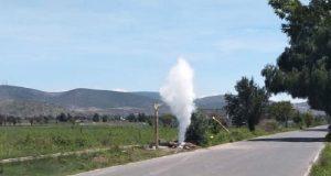 Protección Civil atiende fuga de gas LP en San Felipe Tenextepec