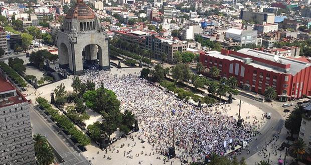 Protestan contra AMLO en varias ciudades