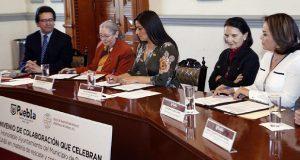 Puebla y Adabi colaborarán en preservación de documentos municipales