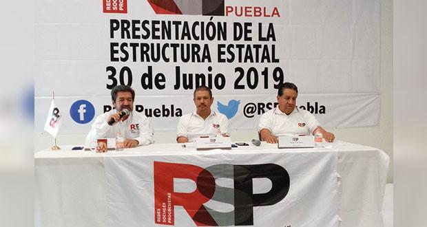 7 de septiembre, asamblea en Puebla para crear partido elbista