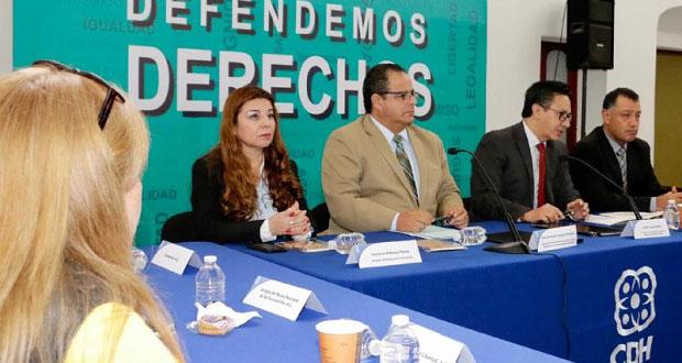 SGG y CDH signan convenio para capacitar a defensores comunitarios