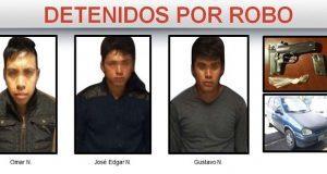 SSP frustra robo y detiene a tres hombres armados