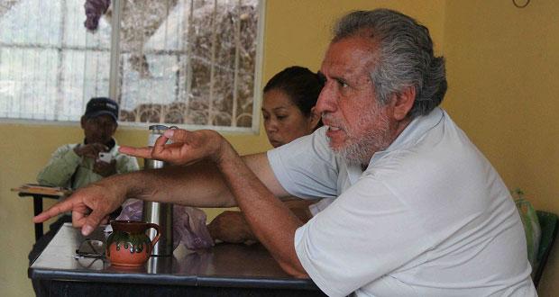 Antorcha da seguimiento a trabajos en comunidad de Huitzilan