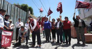 San Andrés Cholula invierte 6 mdp en tres obras de Tonantzintla