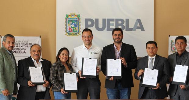 Secotrade y municipios instalan 7 módulos de bolsa de trabajo