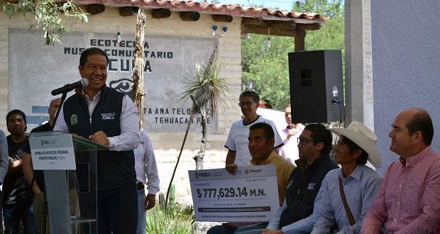 Secretaría de Bienestar da 2.5 mdp para programas en Sierra Negra